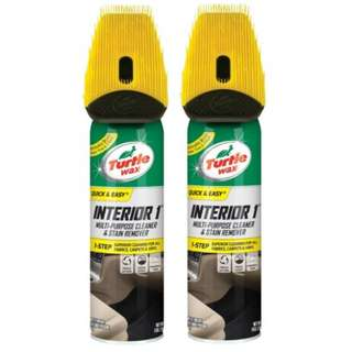 Turtle Wax T-440 Interior 1 Multi-Purpose Cleaner and Stain Remover 510g (Bundle of 2)