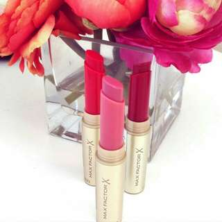 Authentic max factor colour intensifying balm lipstic