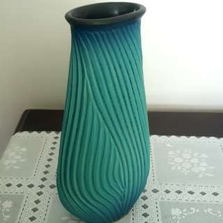 Signed & Handcrafted Vase