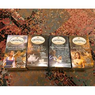 Twinings唐寧茶『美女與野獸』迪士尼Disney特別版 花草茶混合裝~最特別的聖誕禮物 Xmas