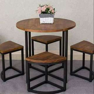 RESTAURANT/PANTRY TABLES AND CHAIRS