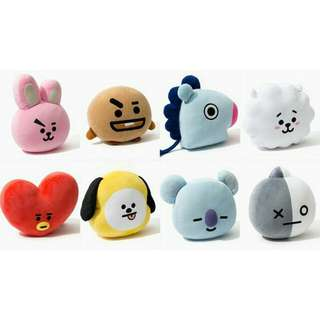[PO] BT21 OFFICIAL PLUSHIE ONLY
