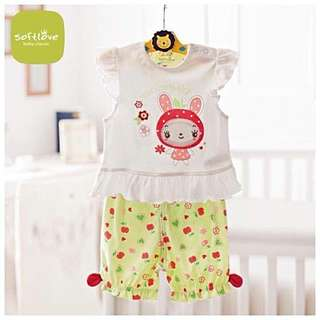 Softlove from UK girls 2pcs set