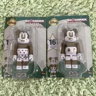 Bearbrick mickey minnie Disney Christmas xmas