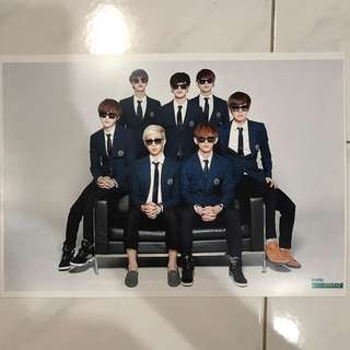 BTS A4 Poster (Unofficial)