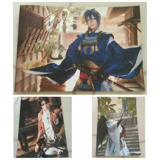 Reika photo book and poster with signature