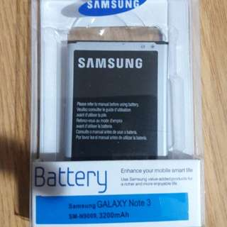 brand new 100% Original Samsung note 3 battery (fixed price)