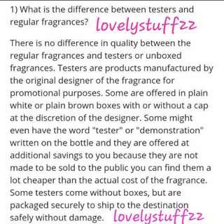 Fragrance info!
