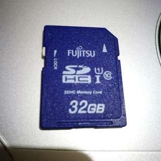 富士通Fujistu相機記憶卡高速ush1
