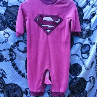 Super girl romper