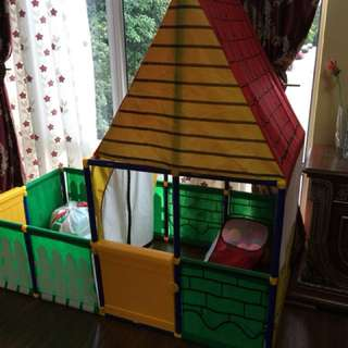 Sunny play house tent