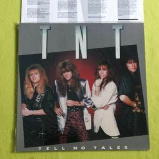 TNT. tell no tales. Vinyl record