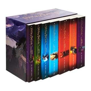 Harry Potter 7-Book Set - Bloomsbury Publishing Slipcase Edition