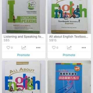 English and Literature Books Masterlist