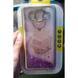 Case Glitter Purple Samsung J2 Prime