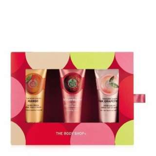 The Body Shop Gift Set hand cream fruit