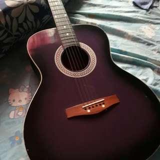 violet guitar