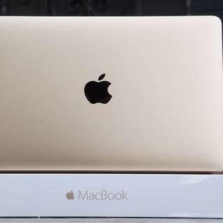 "12"" MacBook - Retina - Early 2015 - 1.2Ghz Core M - 8GB - 512GB SSD - GOLD"