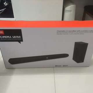 Brand new JBL Sound Bar Soundbar Cinema SB150 Bluetooth sealed