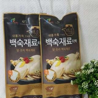 韓國 正宗桑葉人蔘雞湯藥膳包 規格100g/包