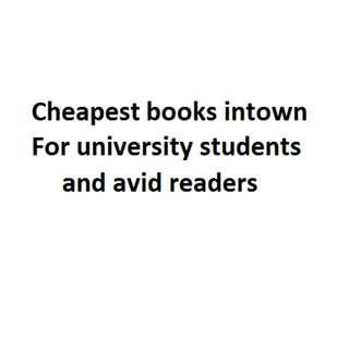 Textbooks for everyone, please read description