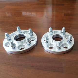 15mm wheel spacers (5x100)