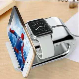 Apple Watch C型支架手機坐