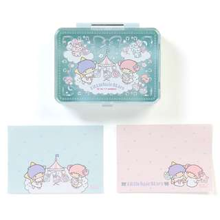 Japan Sanrio Little Twin Stars Memo included Case (cotton candy)