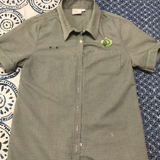 Woolworths Size 12 Short Sleeve Shirt