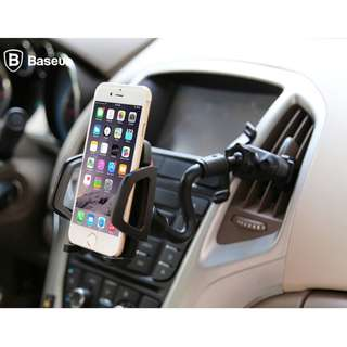Baseus Universal Flexible Air Vent Mount Mobile Car Phone Holder