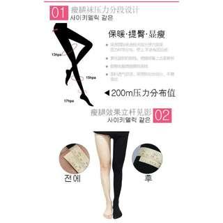 韓國 LASYA Let's slim 200M 瘦腿襪