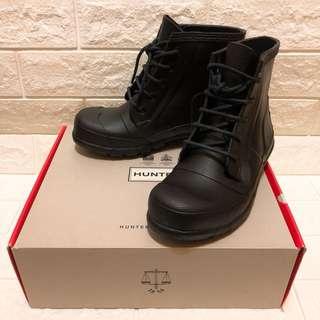 九成新 Hunter雨鞋 雨靴  黑色  US5、EU36