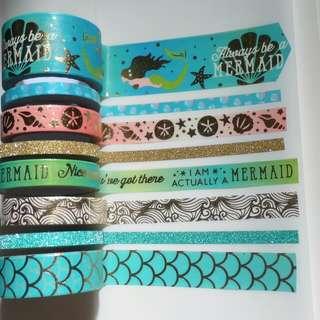 Mermaid Washi Tape Set 3