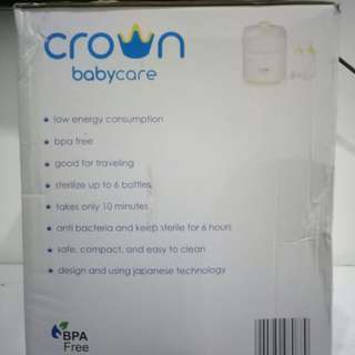 Crown Electric Steam Sterilizer (Babycare)