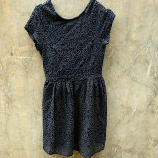 Divided brokat dress