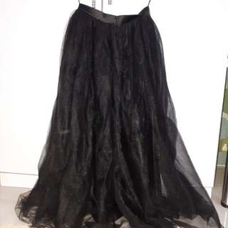 MDS Tulle Maxi Skirt