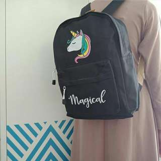 Ransel 4in1 unicorn