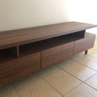 Solid Wood TV Console Scandinavian style