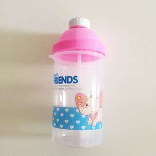 Kids straw bottle