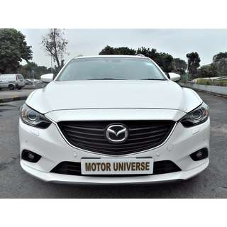 MAZDA MAZDA6 WAGON 2.5 A/T ABS D/AIRBAG 2WD SR