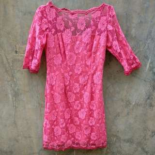 Brokat dress (bordir)