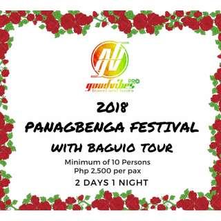 2018 Panagbenga Festival with Baguio Tour