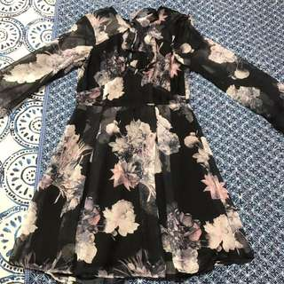 Floral Lace Dress Size 10