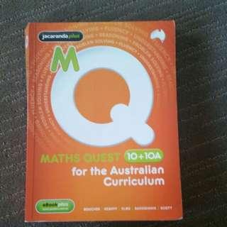 Maths Quest yr 10