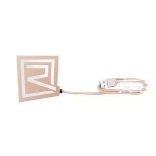 REMAX RU-U7 3 Ports USB 3.0 Hub + Card Reader (gold)