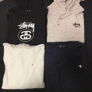 Stussy Japan limited hoodies