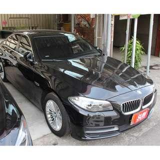 2014 BMW 520I 2.0 黑