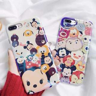 🚚 Tsum Tsum手機殼 *軟殼 *預購 *iphone 6/ iphone 7/ iphone 8 Plus