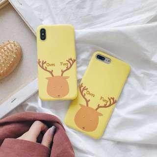 🚚 麋鹿手機殼 *軟殼 *預購 *iphone 6/ iphone 7/ iPhone 8 plus