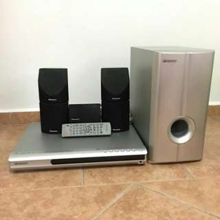 Pioneer DVD Home theater system